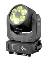 6 peças 6x25 w led movendo cabeça super mini feixe de led 4em1 rgbw moving head lavagem feixe dmx luz do estágio