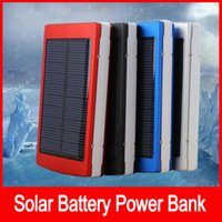 Portable solar battery charger 50000mah LED Darkening portab...