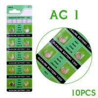 10 قطع AG1 ووتش خلية البطارية AG1 364 SR621SW LR621 621 LR60 CX60 البطاريات القلوية زر عملة خلية البطارية