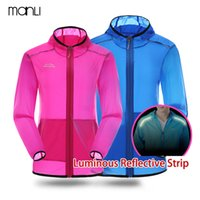 MANLI 2018 Men Women Quick Dry Waterproof Breathable Thin Li...