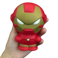 2018 New kawaii Squishy Jumbo 11. 5cm Iron man Spider man Sup...