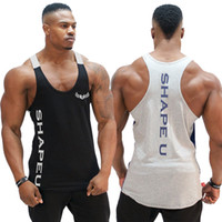 Men' s Print Fitness Tank Tops For Male Summer Casual Lo...