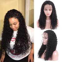 Hot selling Lace Front Human Hair Wigs Remy Brazilian Jerry ...