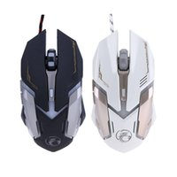 ALLOYSEED Wired Gaming Mouse 6 Buttons Mouse Gamer USB LED O...
