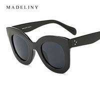 MADELINY New Fashion Cat Eye Occhiali Da Sole Donne Del Progettista di Marca Vintage Gradient Cat Eye Occhiali Da Sole Shades Per Le Donne UV400 MA216