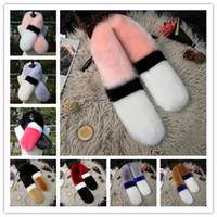2018 Winter Warm Fur Scarf 13 Design Fashion Collar Women Sh...