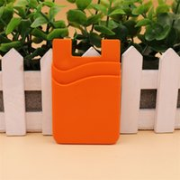 LOW MOQ Double Card Holder Cell Phone Wallet Case Credit ID ...