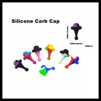 Silicone Carb Cap UFO Directional Airflow Carb Cap FDA Appro...