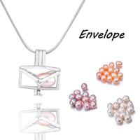 170ランダムスタイルの1つのセットケージペンダント6-7mm天然米真珠のDIYチャームペンダントの宝石類の宝石類の宝石類PP20
