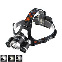 Boruit 8000LM 3 x XM- L L2 LED Headlight Headlamp FISHING CAM...