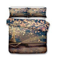 3d ART Bedding Set 3pcs Wishing Light Duvet Covers Pillow Ca...