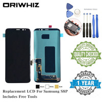 Para Samsung Galaxy S8 Plus S4 i9500 i9505 i9506 l720 S3 i9300 i9305 i747 i535 i93 Pantalla táctil de reemplazo de pantalla LCD Pantalla táctil