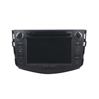 مشغل أقراص دي في دي لtyota RAV4 2006-2012 عالية الجودة 4GB RAM 7inch Andriod 8.0 مع GPS ، تحكم عجلة القيادة ، البلوتوث ، الراديو