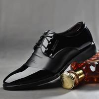 Lackleder Schuhe für Männer Herren Kleid Schuhe große Größen Business formale Büro Schuhe Männer Oxford Leder Schuhe für das Fest