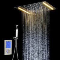 Digital Shower Set Controller Touch Control Panel SUS304 Rai...