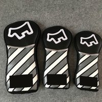 4Options NEWEST Stripe Golf Headcover 1 3 5 3PCS Set High- en...
