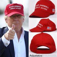 Сделать Америку большой снова письмо шляпа Дональд Трамп Республиканская Snapback спортивные шапки бейсболки США флаг мужские женские Моды Cap