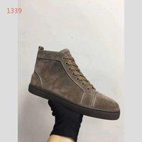 d20610a8fa Rebajas enteras Marca de lujo botines de gamuza con cordones Zapatos  casuales zapatillas de deporte Pisos unisex zapatos de amante