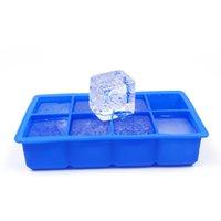 Ice Cubo Maker Molde Criativo Beber Bebida Whisky Esfera Redonda Bola Gelo Molde de Gelo Tijolo Cubo Fabricante de Gelo Bandeja Moldes