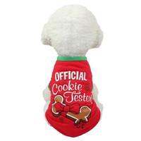 Nuovi vestiti creativi del cane di molti generi tengono caldo il multi colore di Natale del costume di Natale dell'animale domestico fornisce la stampa amichevole di Eco alta qualità