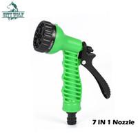 City Wolf Garden Water Sprayers 7 Patrones Pistola de agua Manguera de riego del hogar Pistola de pulverización para lavado de autos Limpieza Césped Jardín Riego