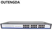 2019 البيع المباشر Rushed Stock 24 port 10 / 100m 24V المبني للمجهول غير القياسي Poe ذو 24 فولت مع 23 منفذ POE لأجهزة Wifi ap وجهاز IP للتصوير