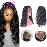 360 lace frontal body wave 100% Malaysian human virgin hair ...