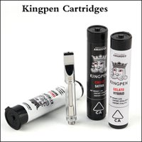 Kingpen Cartridges 0. 5ml 1. 0ml Cotton Ceramic Coil Glass Vap...