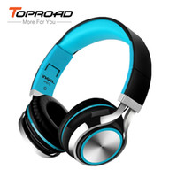 TOPROAD IP878 Wired Stereo Headphone Foldable Headset Subwoo...