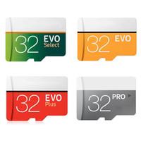 100 % 실제 용량 64 기가 바이트 32 기가 바이트 TF 메모리 카드 EVO 플러스 프로 EVO 선택 클래스 10 고속 휴대 전화 스피커