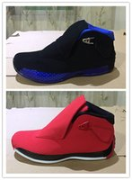 Wholesal New 18 black blue toro red men basketball shoes spo...