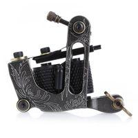 Nouveau Coil Tatouage Machine 8 Wrap Bobines Tatoo Gun En Acier Noir Cadre De Tatouage Pour Liner Shader Équipement Fournir Livraison Gratuite