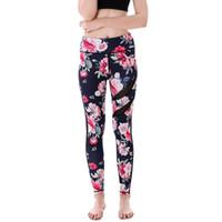 Hopeforth Nouveau Arrivent Sur Leggings De Yoga Imprimés Femmes Sexy Pantalons De Sport D'été Danse Leggings Slim De Fitness