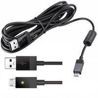 게임 플레이 충전 케이블 마이크로 USB 플러그 플레이 충전 게임 패드 컨트롤러 충전기 충전 케이블 코드 리드 Xbox One PS4 무료 배송