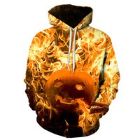 2018 NEW fashion Halloween Hoodies Unisex Realistic streets ...