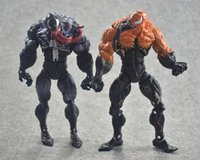 Action Figures 2 Styles Venom Plastic Doll toys New kids Ave...