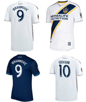 2018 LA galaxy soccer jerseys zlatan IBRAHIMOVIC Football je...