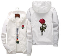Hot fashion 3D Rose Veste Coupe-Vent Hommes Femmes Veste enfants en plein air en plein air Roses Outwear Manteau Plus taille S ~ 6XL En plein air