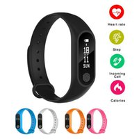 OLED Smart Bracelet M2 Waterproof smart watch Heart Rate Mon...