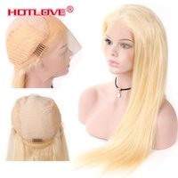Hotlove Hair Full Blonde 613# Color Brazilian Remy Human Hai...