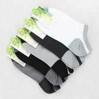 2016 promoción moda calcetines hombres 10 pares = 20 piezas de alta calidad de bambú 2 estilos transpirable hombres cómodos tamaño ocasional 39-43
