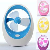 Kreativer eiförmiger Mini-USB-Fan Computer-Desktop-Klimaanlage Kinder-Cartoon-Mangofan