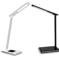 New LED Desk Lamp Table Lamp Folding Eye- friendly 4Light Col...