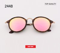 Top Quality round Men UV400 Driving Sunglasses 2447 Holiday ...