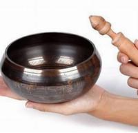 """3.5 """"Koleksiyon Tibet Bakır OUTSTANDING ESKI CHAKRA TIBETAN ŞARKı YAY 8 cmAntik Bahçe Dekorasyon Gümüş Pirinç"""