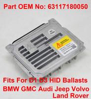 1 PCS 12 V D1S D3S 35 W OEM HID Xenon Farol Lastro Unidade de Controle de Computador Parte 63117180050 Se Encaixa Para BMW GMC Audi Jeep Volvo Land Rover