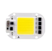 LED COB Chip 50W 30W 20W 110V 220V inteligente IC No Need controlador de entrada alta Lumens Chip Para DIY LED Focos Spotlight luz Beads