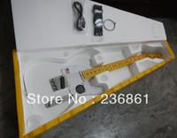 Envío gratis CALIENTE! Guitarra eléctrica blanca de alta calidad estándar de Telecaster Ameican en stock