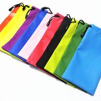 أزياء النظارات الحالات القماش حقيبة الهاتف للماء ستوكات نظارات شمسية حقائب أدوات الرباط تنظيف وتخزين الحقيبة لون عشوائي