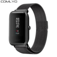 20mm Milanese Loop Magnetic Stainless Steel Watch Band for X...
